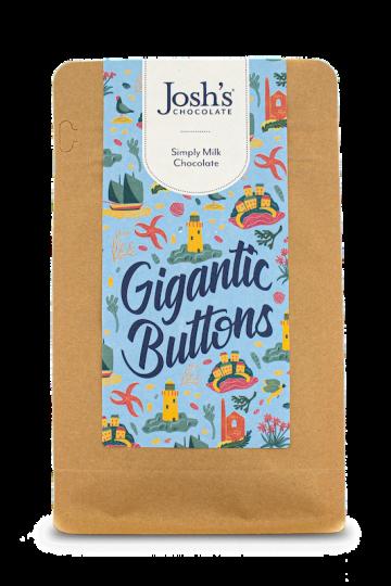 Josh's Chocolate Gigantic Milk Chocolate Buttons