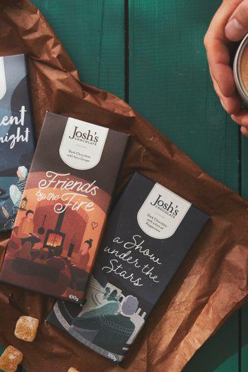 Three dark chocolate bar selection | Josh's Chocolate